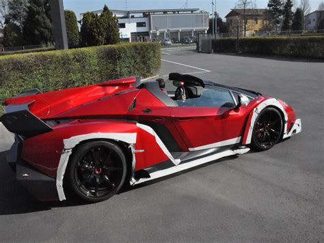 lamborghini veneno roadster spotted lamborghini veneno roadster outside factory