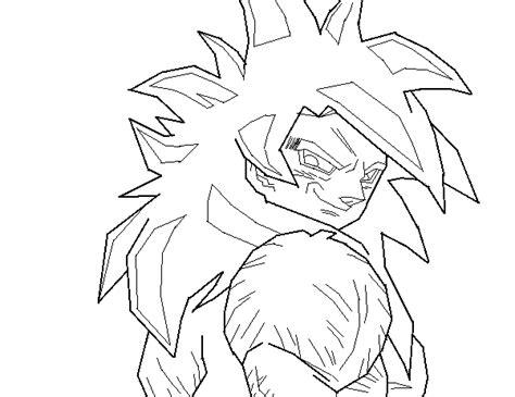 imagenes de goku fase 4 para dibujar mi dibujo de goku fase 4 en paint taringa