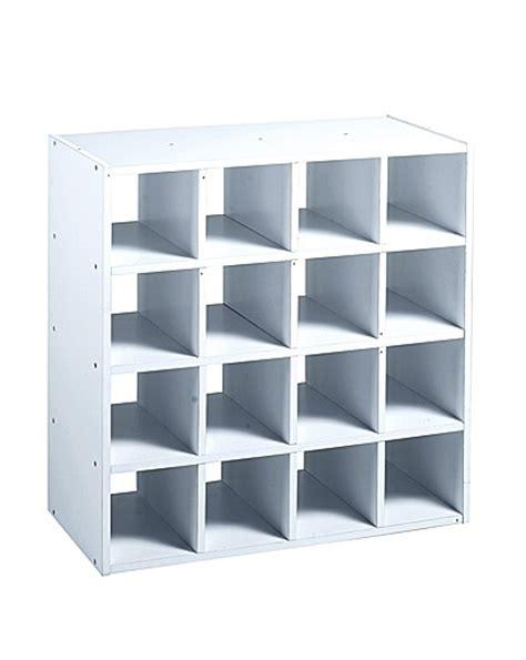 16 Cube Shelf by 16 Cube Storage Unit J D Williams