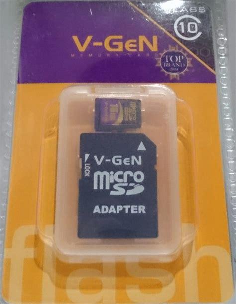 Micro Sd 64 Gb Vgen Class 10 vgen vgen memory card micro sd class 10 8gb 64gb top