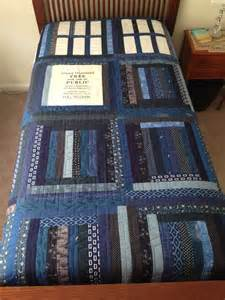 dr who tardis quilt unique self designed pattern