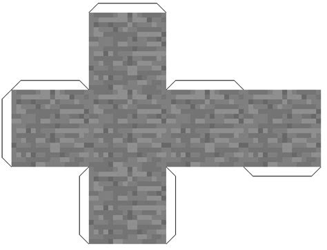 Minecraft Papercraft Black And White - imgs for gt minecraft blocks papercraft black and white
