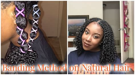 hairstyles to do after washing hair banding method on natural hair how to stretch a wash and