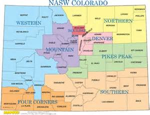 colorado region map regions of colorado