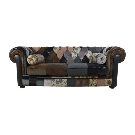 Chesterfield Patchwork Sofa - patchwork chesterfield sofa 28 images brighton