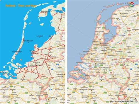 netherlands map reclaimed land the fox knows many things god created the world but the