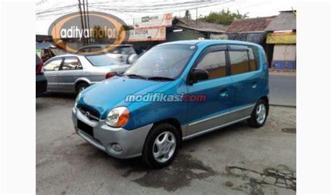 Bantal Mobil Hyundai Atoz jual 2004 hyundai atoz g biru metalik manual
