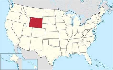 map of wyoming usa where is wyoming world of map