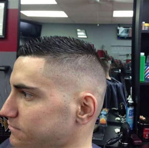 short spiky fade haircut 60 military haircut ideas menhairstylist com