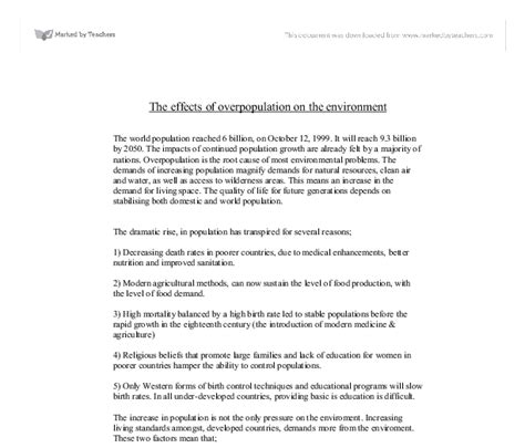 Essay About Overpopulation by Essay About Overpopulation Lawwustl Web Fc2