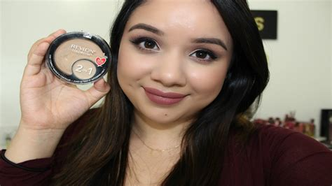 Eyeliner Revlon 2in1 new revlon colorstay 2 in 1 compact makeup and concealer review demo