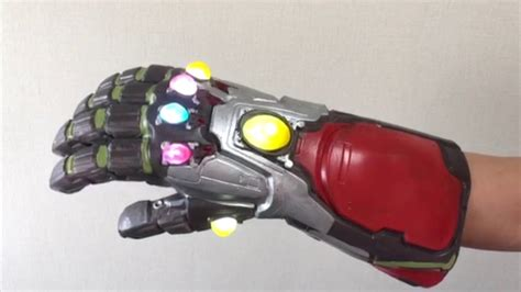 avengers endgame iron man infinity gauntlet gloves cosplay