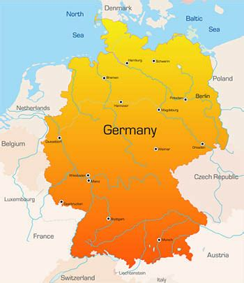 germany map opinions on germany