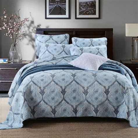 Patchwork Bedspreads King Size - quality woven cotton bedspread floral patchwork bedspreads