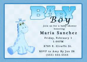 giraffe boy baby shower invitation kustom kreations