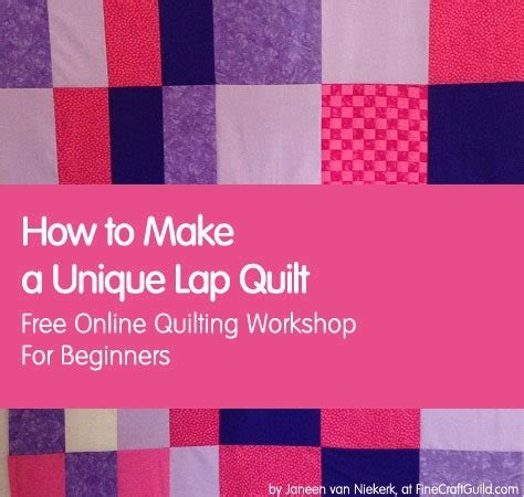 How To Begin Quilting by How To Make A Modern Quilt Free Quilt Patterns