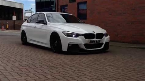 BMW F30 Slammed   YouTube
