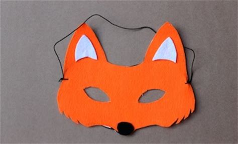 make a fox mask fantastic mr fox dress up book week