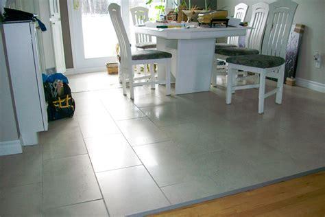 plancher cuisine dosseret de cuisine en plancher flottant image sur le