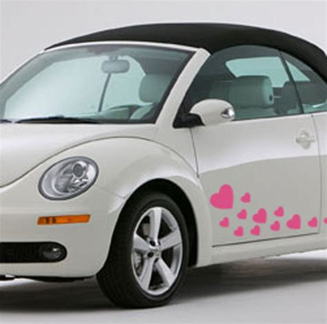 Decorated Vw Beetle by Pack Of Decorative Wall Stickers By Nutmeg Notonthehighstreet