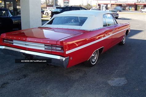 1968 plymouth fury 1968 plymouth fury iii convertible