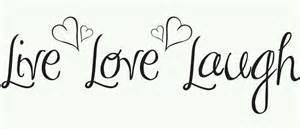live love laugh clipart 61
