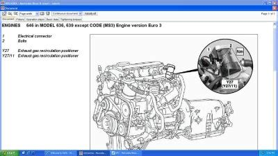 mercedes sprinter 315 cdi wiring diagram 28 images 7