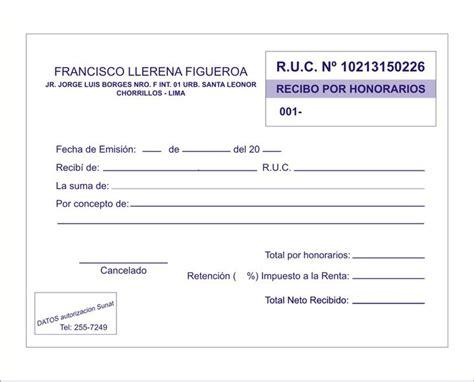 monto de pago de entrega de libreta recibo por honorarios urgentes facturas a domicilio deliv