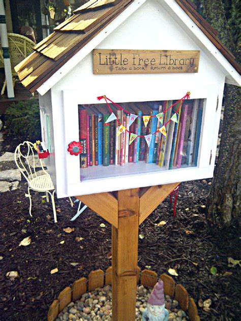 outdoor home library ideas hi mamma the littlest outdoor library