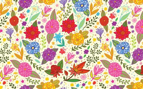 flower pattern desktop wallpaper vector flower pattern wallpaper download hd vector