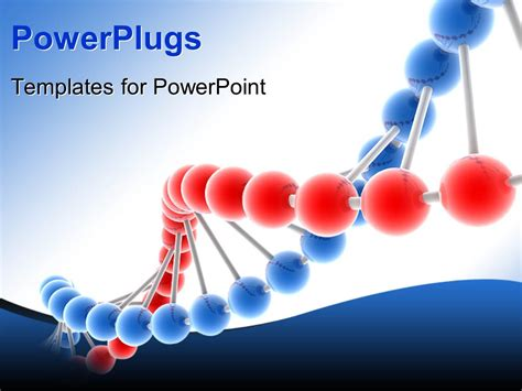 powerplugs templates for powerpoint download powerpoint template 3d genetic molecular dna structure