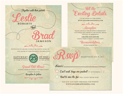Wedding Invitation Details Card Wording