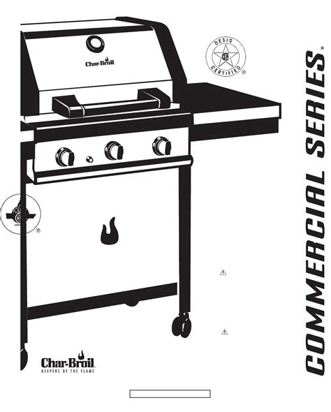 Char Broil Gas Grill 466231203 User Guide Manualsonline Com Backyard Grill Manual