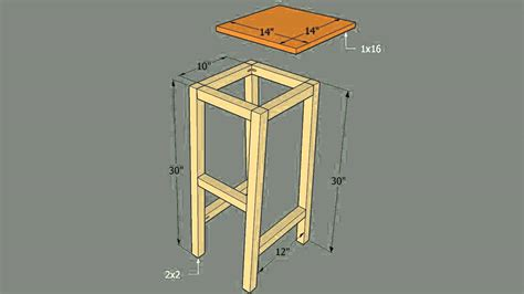 How To Make A Bar Stool Out Of Wood by How To Build Bar Stools Out Of Saddles