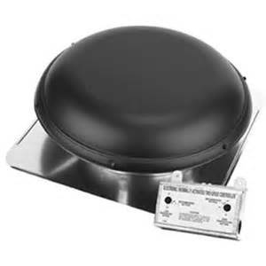 attic fan cover home depot roof mount 2100 sq ft attic ventilator black model