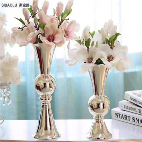 metal vases wholesale buy wholesale silver metal vases from china silver