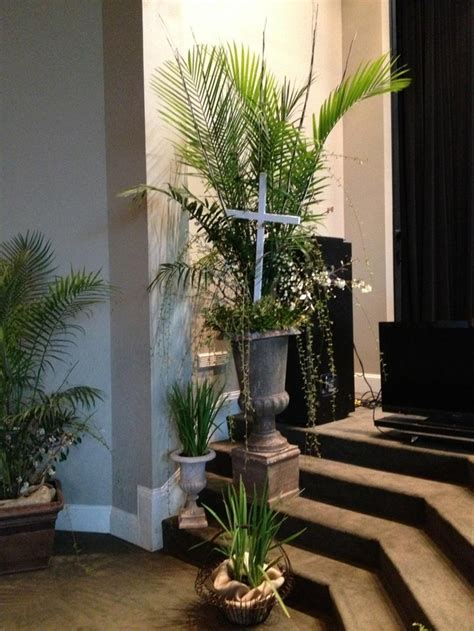 pot plant christmas altar 155 best palm sunday images on palm sunday church flowers and altars