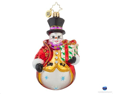 1017765 christopher radko dapper dan christmas ornament
