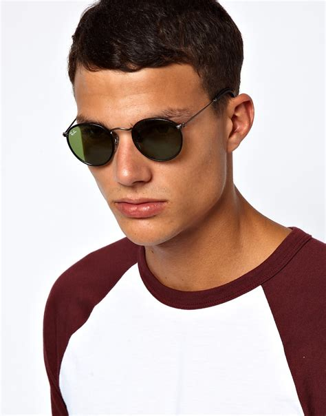 Rayband 2180 Lennon by Ban Sunglasses In Black For Lyst