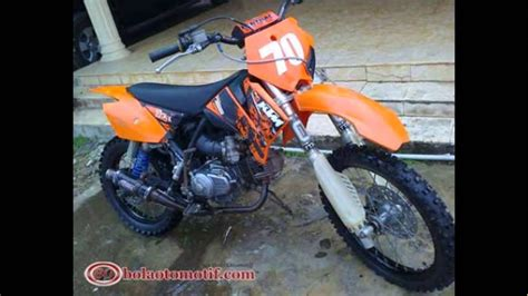 Modif Jupiter Mx Jadi Trail by 85 Modifikasi Motor Honda Supra Jadi Trail Modifikasi Trail