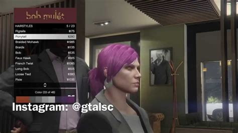 gta online hair colors next gen gta 5 ps4 new first person driving change