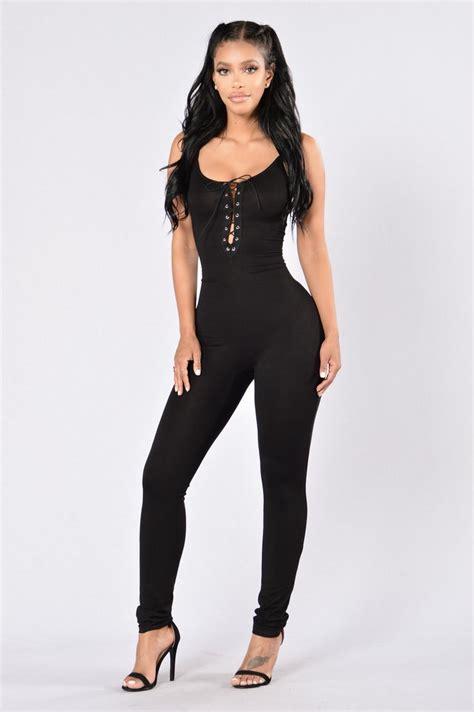 Set Top Jumpsuit Sfb1673 Black of jumpsuit black