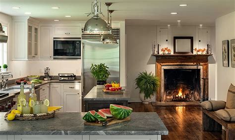 kitchen fireplace design ideas hot trends give your kitchen a sizzling makeover with a