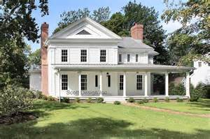 C W Farmhouse Design New 1850 S Greek Revival Farmhouse Farmhouse Exterior