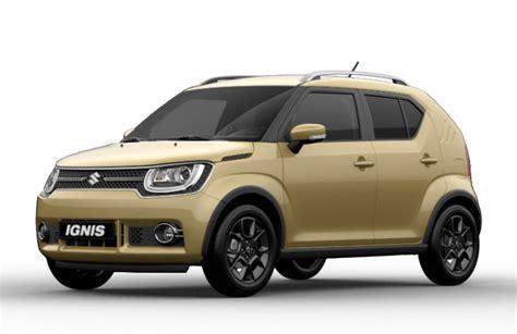 Suzuki Colour Suzuki Ignis 2017 Couleurs Colors