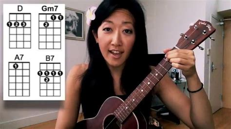 Youtube Tutorial Ukulele | dream a little dream of me ukulele tutorial youtube