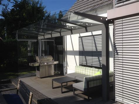 terrassendach ohne wandbefestigung terrassen 252 berdachung glasdach und terrassend 228 cher by gladius