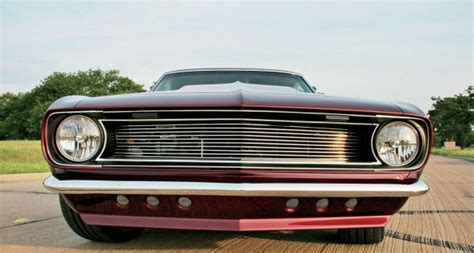68 camaro grill slick ultra trick 1968 chevrolet camaro cars zone