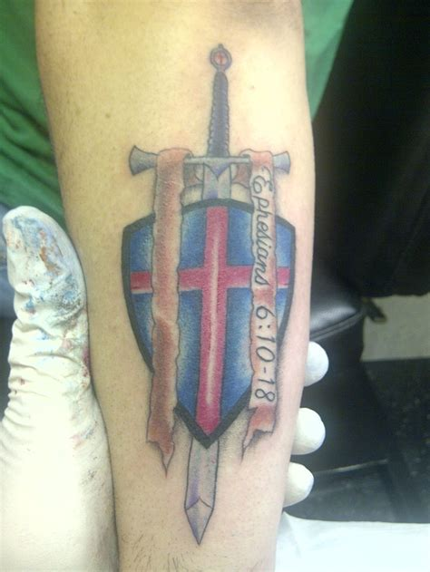god on cross tattoo best 25 armor of god ideas on
