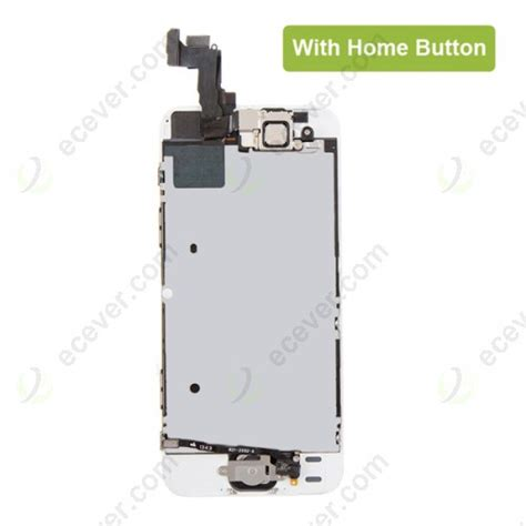 Lcd Fullset Iphone 55s Original Black Tested oem for iphone 5s se lcd display touch screen digitizer assembly with small parts white